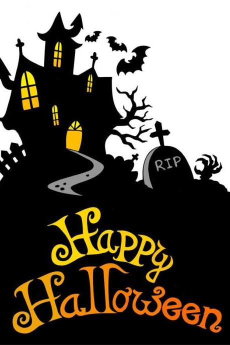 Haunted Halloween House Cross Stitch Pattern***L@@K***